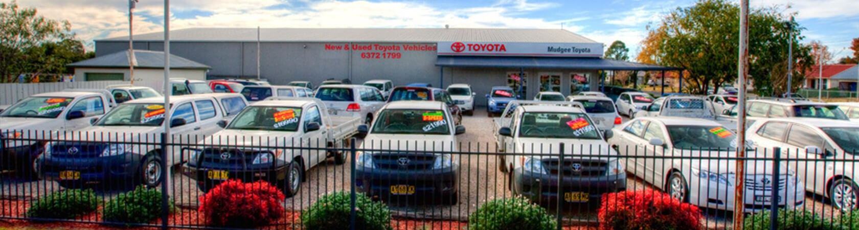 Mudgee Toyota Finance & Insurance Banner